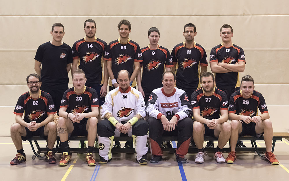 hommes 1 - le Rouge et Or, club de unihockey Le Locle