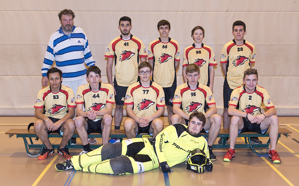 Le Rouge et Or, club de unihockey Le Locle